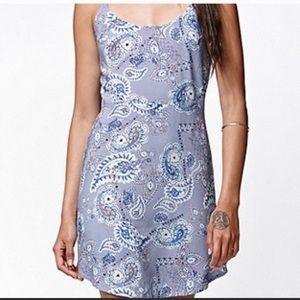 Periwinkle Paisley Dress